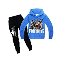 Blue & Black Mixed Neck Two Pieces Wear For Boys