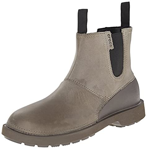 crocs Breck Boot, Herren Chelsea Boots, Braun (Walnut/Espresso 23J), 43/44 EU (9 Herren UK)