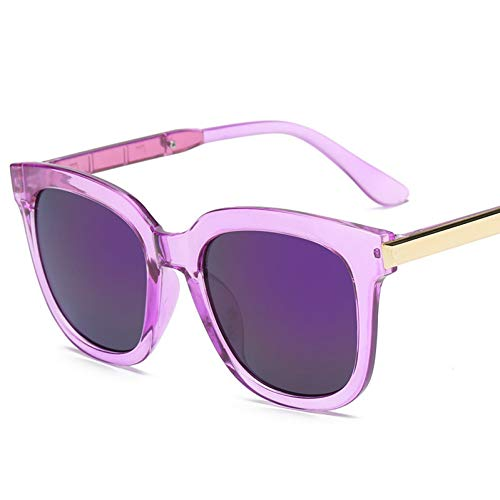 ZRTYJ Sonnenbrille Vintage cat Eye Sonnenbrille Frauen Mode Spiegel Marke Sonnenbrille für DamenRetro Hipster Brille