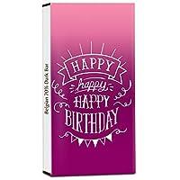 Chocholik Birthday Day Gift – May This Year Be Your Best Ever 70% Dark Belgium Chocolate Bar - 100gm (3.5Oz)