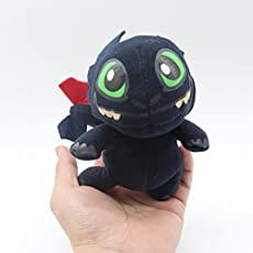 New and Imported Versla 18cm Dragons 2 Toothless Plush Toy For kids