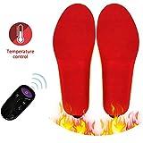 nicololfle Uomo Donna Solette riscaldanti USB Ricaricabili Solette riscaldate elettriche Scaldapiedi Calzascarpe Solette Termiche per Lo Sport Outdoor Indoor