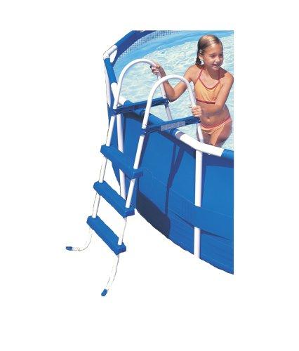 Intex 12-58973 Leiter ohne Plattform für Pools mit 107 cm Höhe 12-plattform