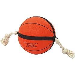 FLAMINGO Actionball Balle de Basket pour Chien Orange/Noir 24 cm