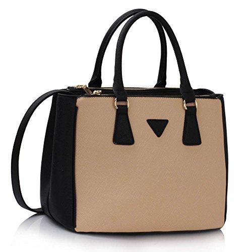 Handtaschen Für Frauen Designer Tote Taschen Für Mädchen Fashion Faux Leder Damen Celebrity Style Neu (Mode-reise-gepäck-kollektion)
