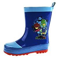 PJ MASKS Boys Wellington Boots Rubber