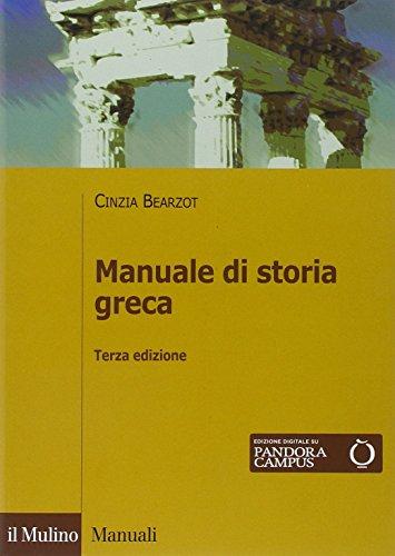 Manuale di storia greca. Con e-book