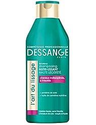 DESSANGE Shampooing l'Art du Lissage pour Cheveux Indisciplinés à Frisottis 250 ml