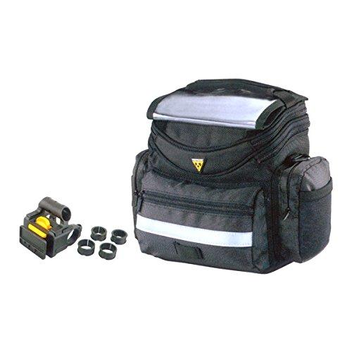 Topeak Lenkertasche TourGuide Handlebar Bag, Black, 25.5 x 18 x 23 cm, 5 Liter, TT3021B