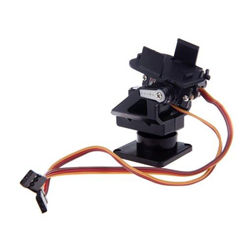 Andoer Kunststoff Kit PT Pan / Tilt-Kamera-Plattform Anti-Vibration Berg für FPV RC