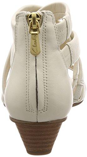 Clarks Mena Silk - D010112 Weiß