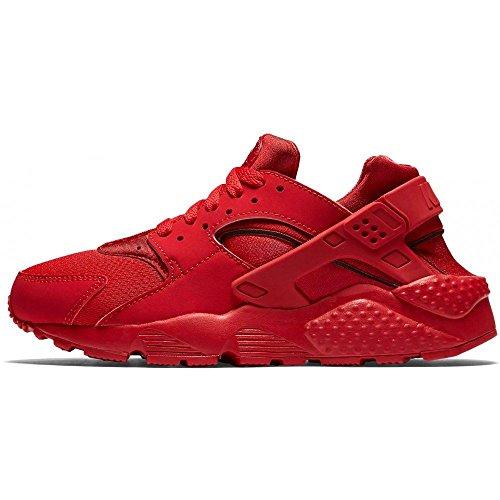 Nike Huarache Run (GS) Scarpe da corsa, Uomo, Rosso, 40