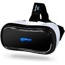 bestface® 3d cuffia di realtà virtuale tutto in un 3d occhiali Supporta 2.4G Wi-Fi Bluetooth connessione HDMI e scheda TF per PC giochi Video Youtube Google cuffia