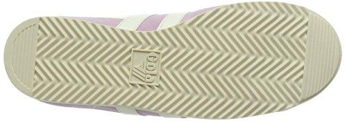 Gola Bullet Suede, Sneaker Basse Donna Rosa (Pastel Pink/off White)
