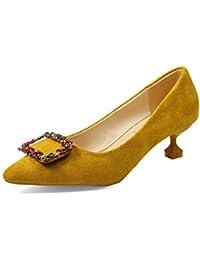 Zapatos de la Corte del talón de Louis de Las Mujeres Casual Solos Zapatos clásicos Bombas