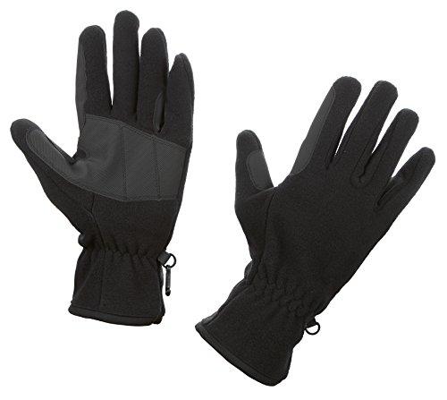 Kerbl Handschuhe Fleece-Reithandschuhe Schwarz, XS