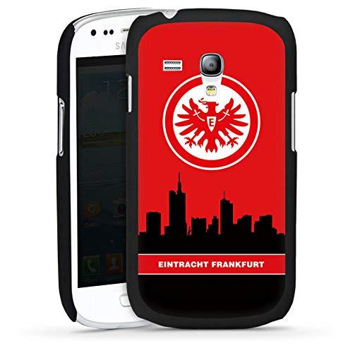 DeinDesign Hülle kompatibel mit Samsung Galaxy S3 Mini Handyhülle Case Eintracht Frankfurt Logo Skyline Logo Samsung S3 Case