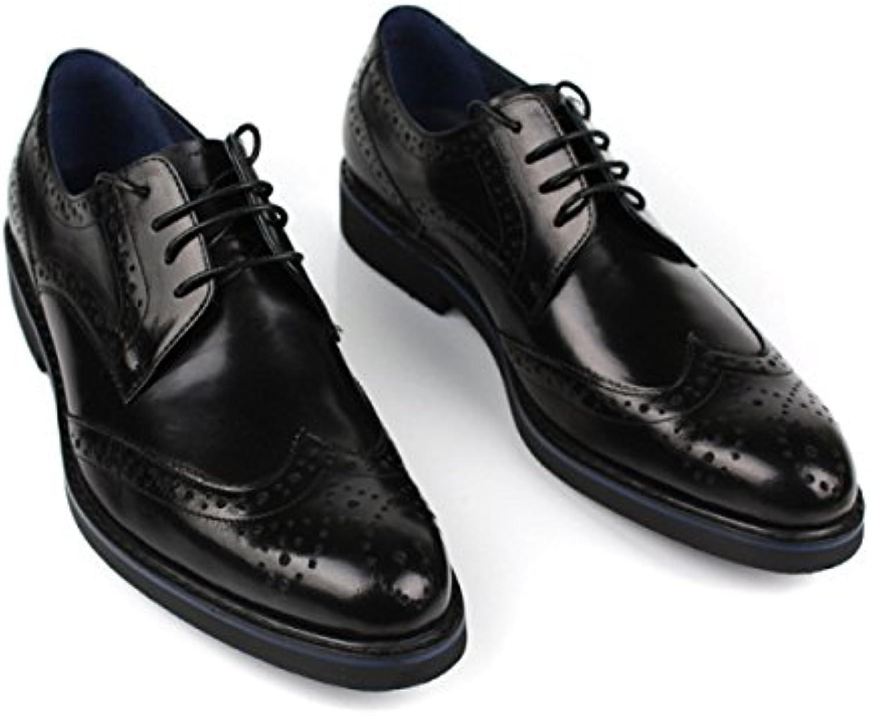 Zapatos Oxford Para Hombres Zapatos Ocasionales Con Cordones Formal Para Hombres Zapatos Bajos De Cuero Para Oficinas -
