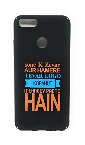 Oytra Xiomi Redmi Mi A1 Mobile Cover | Hard Case | Phone Back Cover for Boys & Girls | Fancy & Cool | Printed with one Liner, Punches, Quote, Thoughts & Sayings
