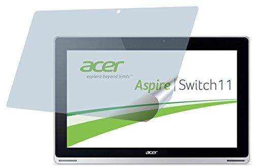 4ProTec Acer Aspire Switch 11 (2 Stück) Premium Bildschirmschutzfolie Displayschutzfolie kristallklar - PASST Nicht AUF Acer Aspire Switch 11V