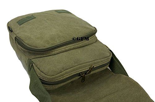 GFM , Herren Schultertasche Mehrfarbig Style 2 - 14KEK - Brown S .Style 4 - Black (KL9)