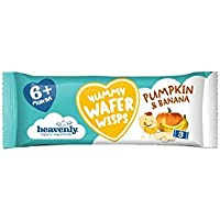 Heavenly Tasty Yummy Wafer Crisps de Plátano y Calabaza 14g (Pack de 4)