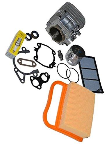 Zylinder mit Kolben Nikasil beschichtet passend Trennschleifer Stihl TS410 oder TS420 - High Quality