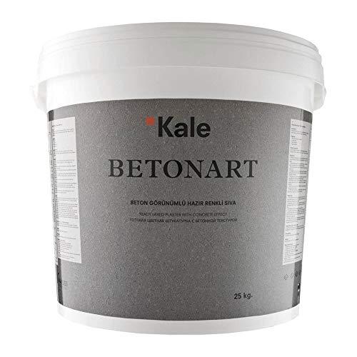 Kalekim Betonart B185 (Dunkelgrau) Spachtelmasse mit Betonoptik 25kg