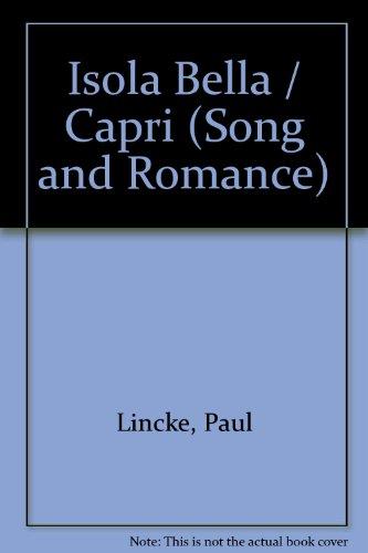 Isola Bella / Capri: Lied und Romanze. Salonorchester. Salonorchester-Ergänzung (Zusatzstimmen für großes Orchester). Bella Capri