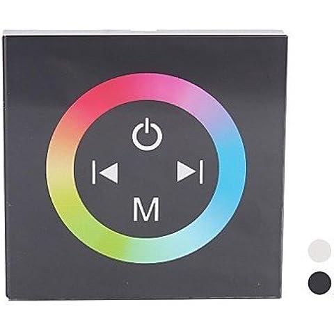 XMQC*TM08 LED RGB Controlador del panel táctil para banda de luz LED de color único (DC12-24V entrada,Max 4A*3canales de salida) ,