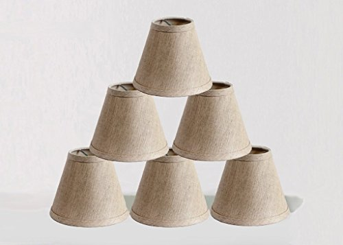 Onepre clip on chandelier lamp shades hardback candle linen onepre clip on chandelier mozeypictures Image collections