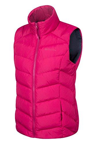 Mountain Warehouse Crescent Damen-Daunenweste Leuchtendes Pink