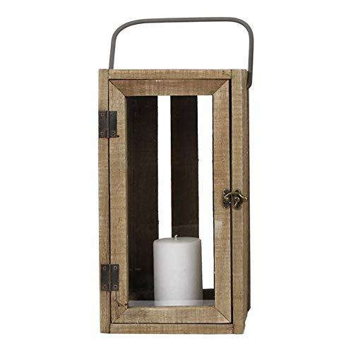 Blanc Nicola Spring Bougie lanternes Porte-Photophore Vintage M/étal Suspendu Int/érieur Ext/érieur 20cm