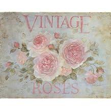 Lámina 'Vintage Rose', de Debi Coules, Tamaño: 28 x 36 cm