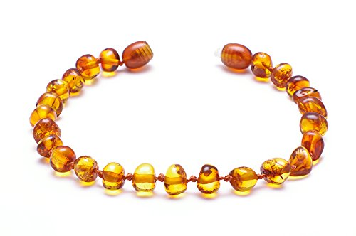 Premium Amber Bracelet Anklet Size from 13 to 18 cm Best Baltic Amber Quality on Amazon 50 Higher Value 100 Days 100 Satisfaction Money Back Guarantee CGNP BRQ145