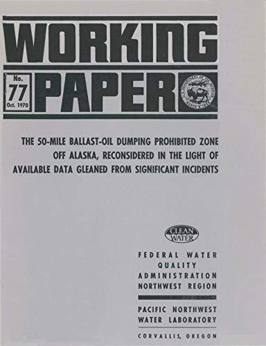 50-mile Ballast-Oil Dumping Prohibited Zone Off Alaska (English ...