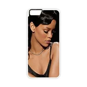 iPhone 6 plus 5.5 inch White Rhianana Phone Case Delicate Classic Interesting Trend Beautiful WZCP5015128