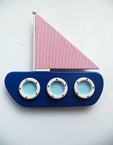 Schlummerleuchte im Segelboot-Design