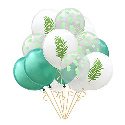 ZSQQSCL Jahr Weihnachten Ballon Anlage Muster Transparente Punkt Latex Ballon Set Mall Hotel Interior Festliche Atmosphäre Dekorative Luftballons, D