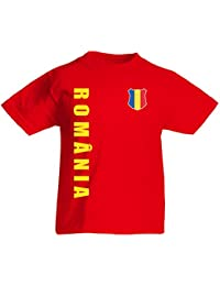 Rumänien Romania Kinder T-Shirt Trikot Wunschname Wunschnummer