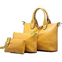 Le donne della borsa a tracolla in pelle Messenger Bag