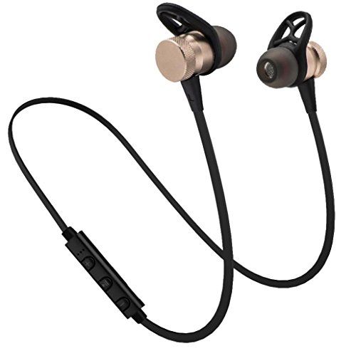 auriculares in ear headphone bluetooth inalambricos deportivos Sannysi