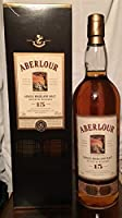 Aberlour 15yo with case old bottle 1L from Aberlour