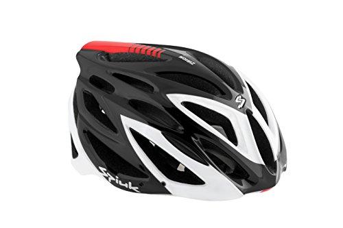 Spiuk Zirion - Unisex-Helm, Schwarz / Weiß, 53 - 61 cm
