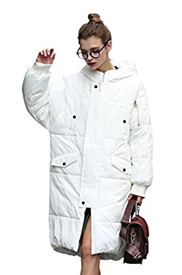 you.u Women Water/Stain Resistant Anorak Winter Long Quilted Coat