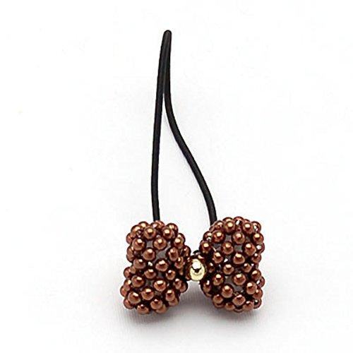 Prima farfalla decorazione/Capelli perla string band/ Copricapo di Corea/ cerchio/ capelli accessori per capelli/ gioielli (Farfalla Strings)