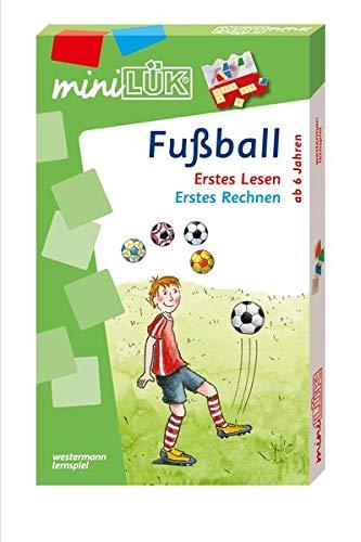 miniLÜK-Sets: miniLÜK-Set: Fußball: Erstes Lesen / Erstes Rechnen
