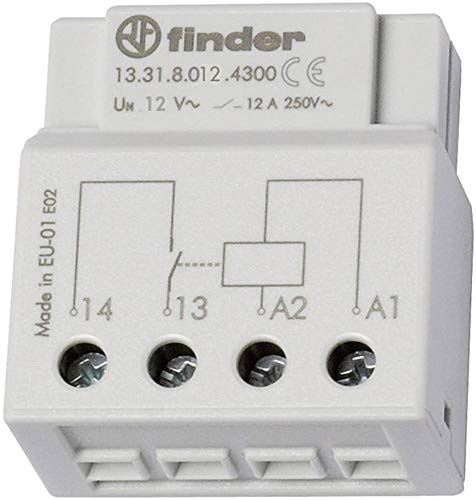 Finder Stromstoßschalter Baureihe 13elektronseinrichtung 12V AC Finder-adapter