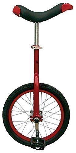 Messingschlager Einrad Fun 16, 20 und 24 Zoll, zur Auswahl (rot, 16 Zoll)