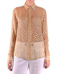 568d886ee1 Amazon.it: Seta - Beige / Bluse e camicie / T-shirt, top e bluse ...